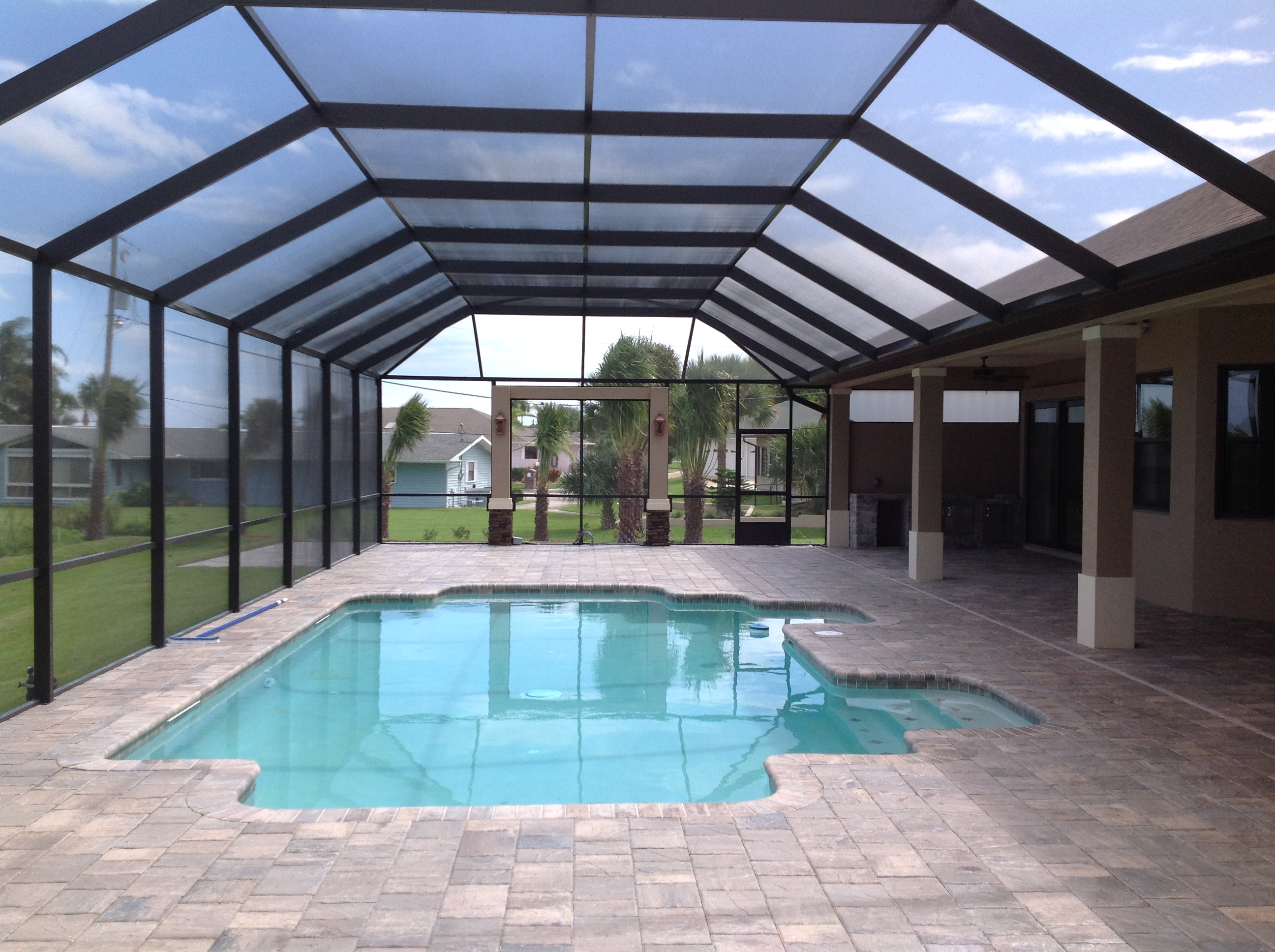 patio and screen enclosure pressure cleaning wellington fl